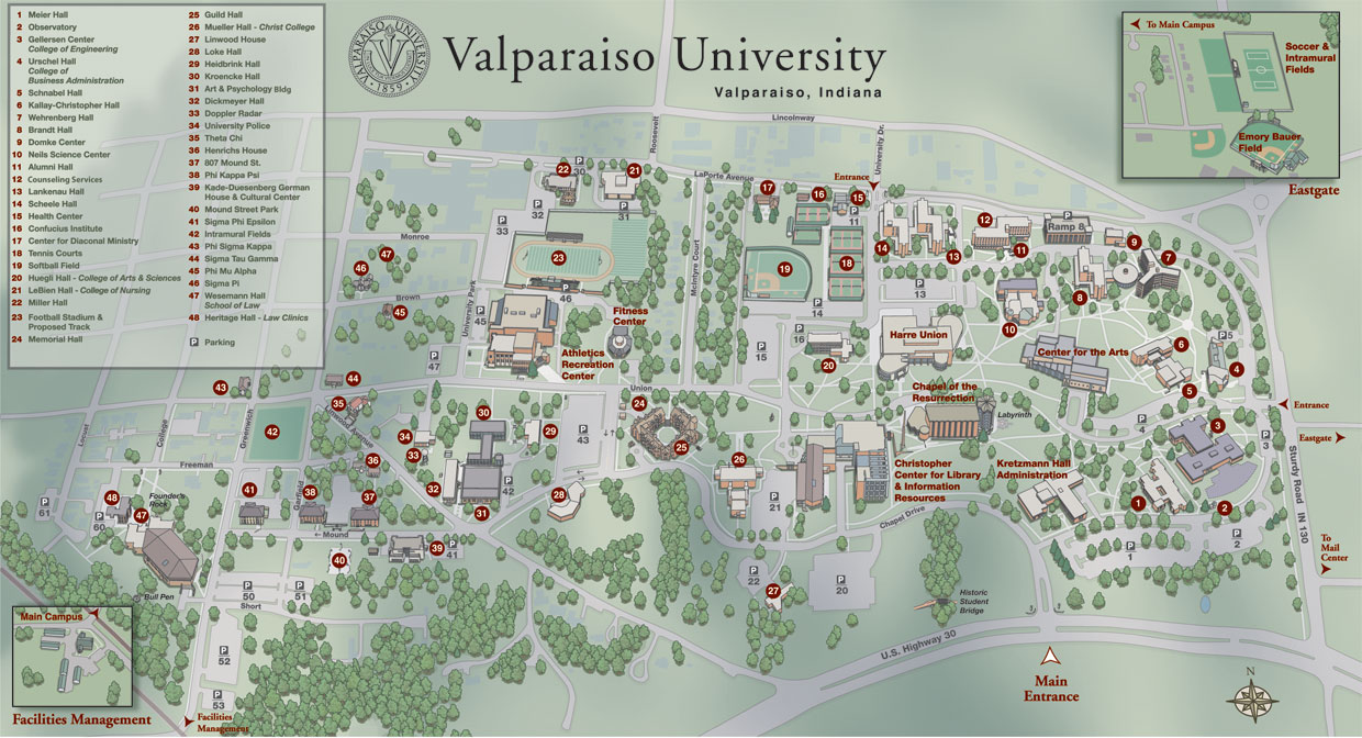Campus Map Brown.Campus Map About