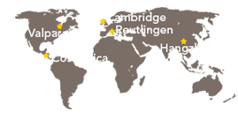 Global Locations Map