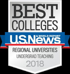 Best Colleges U.S. News & World Report Regional Universities Undergrad Teaching 2018