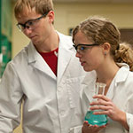 Photo of chemistry students