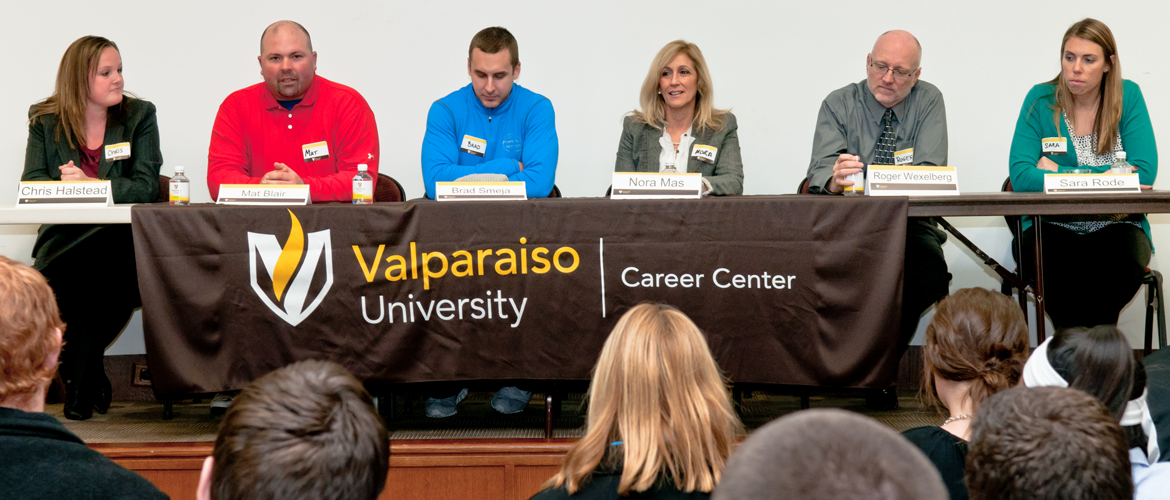 Career in Sports panel