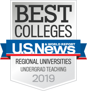 U.S. News & World Report Best Colleges Regional Universities Undergrad Teaching 2019