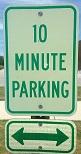 10 Min parking
