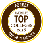 Forbes America's Top Colleges 2016: Top 50 in America