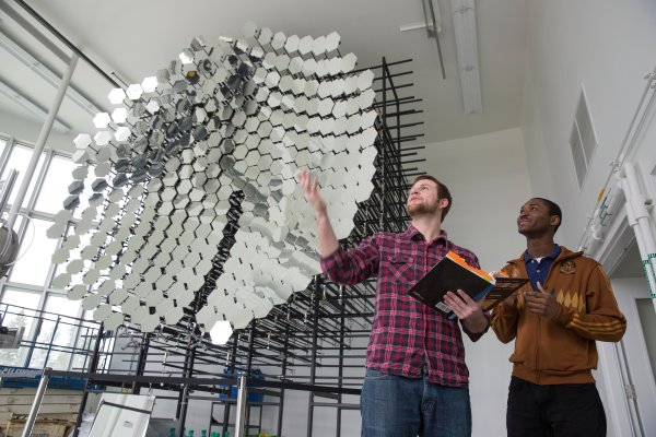A tour of the Valpo Solar Energy Research Facility