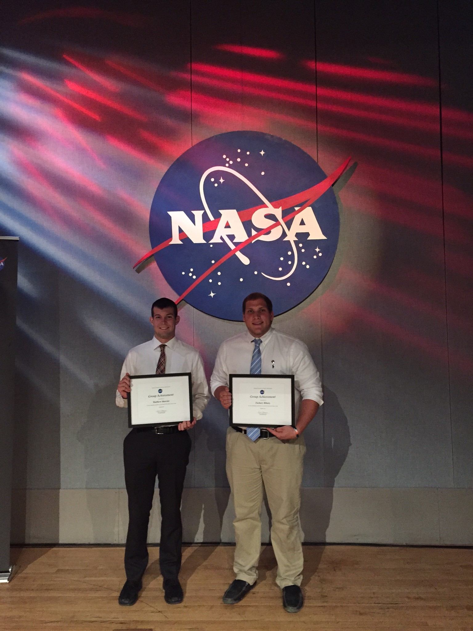 NASA Image Student Acheivements