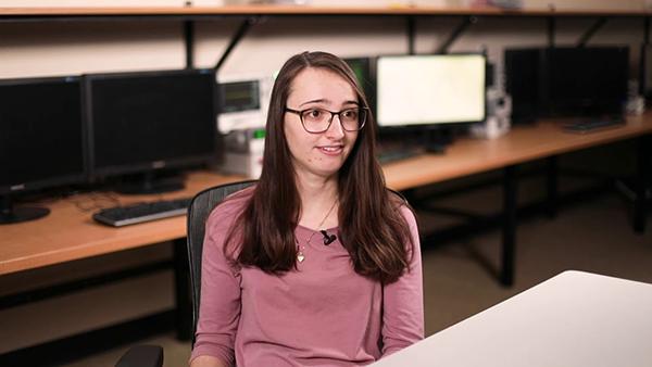 Sarah Kuchel, alum of Valpo's college engineering program