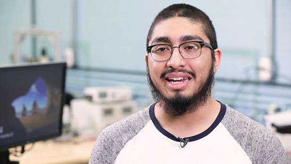 Gabe Martinez, student at Valpo's College of Engineering