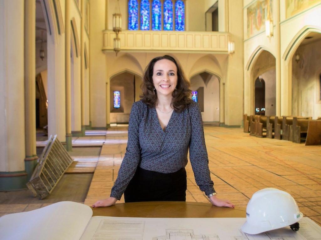Rebecca Otte, Valpo alum with engineering degree