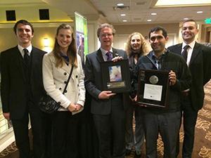 Solar Team Wins Award