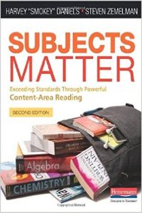 Photo of Subjects Matter Textbook Cover