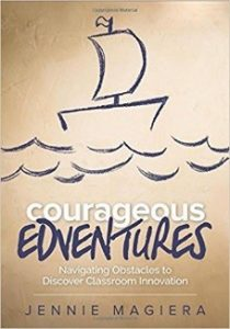 Cover of book titled Courageous Edventures