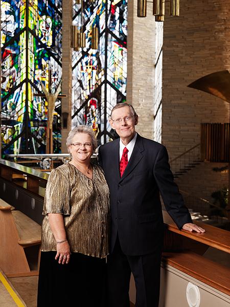 Rev. Mark ('71) and Kathy Koepp ('71) Helge