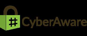 Hashtag Cyberaware logo