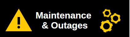 Link to view Maintenance and Outage Information
