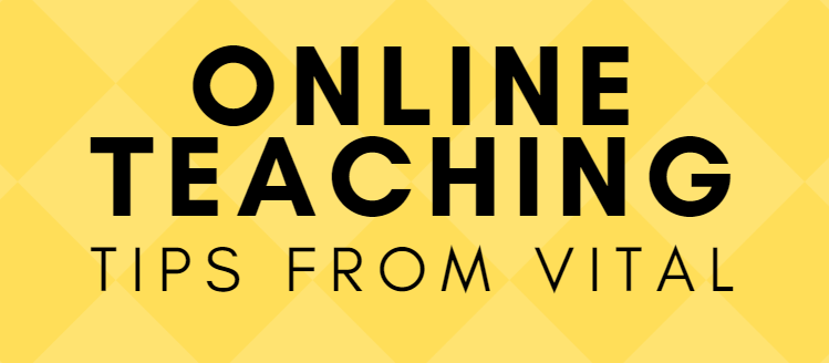 Link to online teaching resources from VITAL