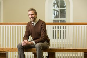 Professor Heeren at the Valparaiso University Law Clinic