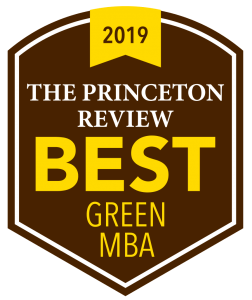 The Princeton Review Best Green MBA 2019