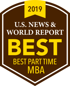 US News & World Report Best Part-Time MBA 2019