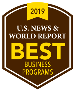 US News & World Report Best Business Programs 2019
