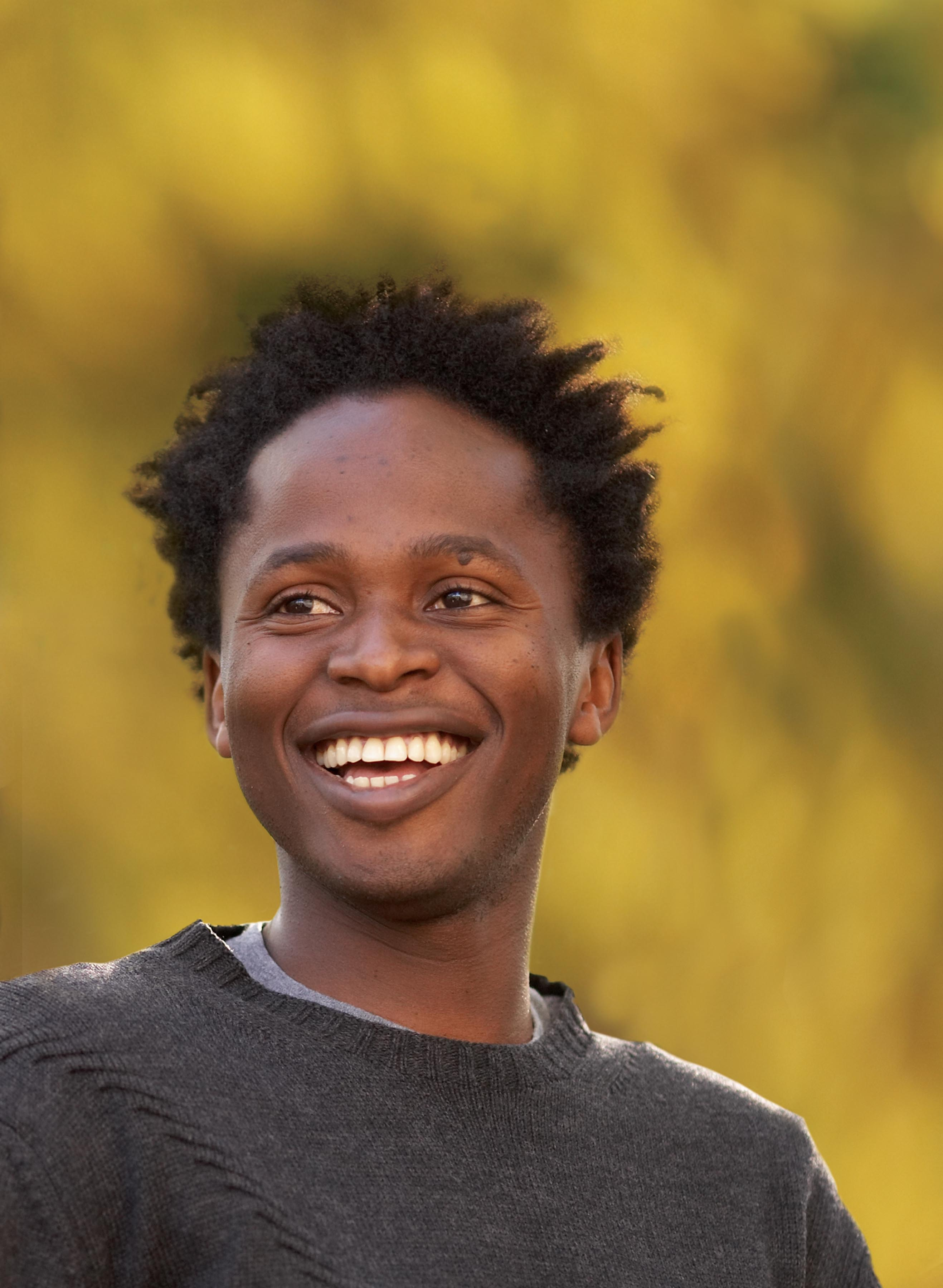 Ishmael Beah, author of A LONG WAY GONE. Photo by John Madere.