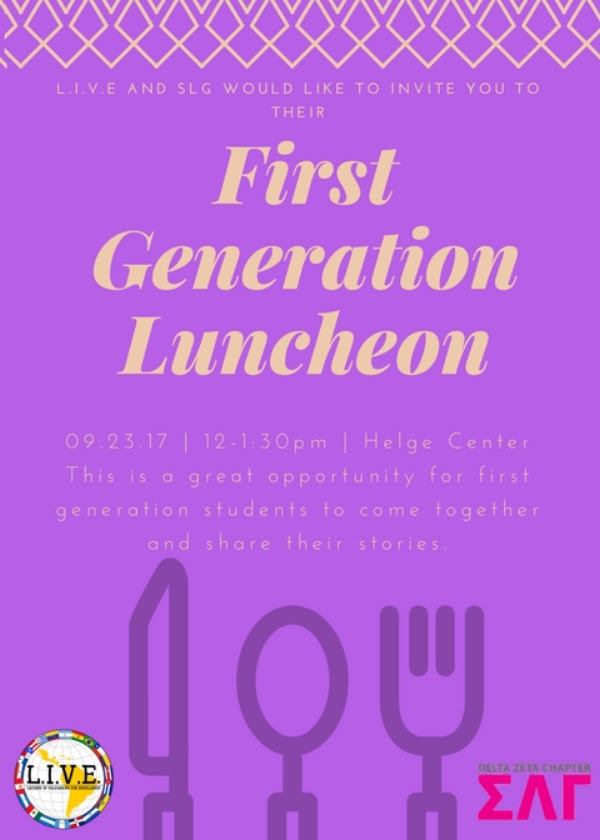 1st Gen Luncheon