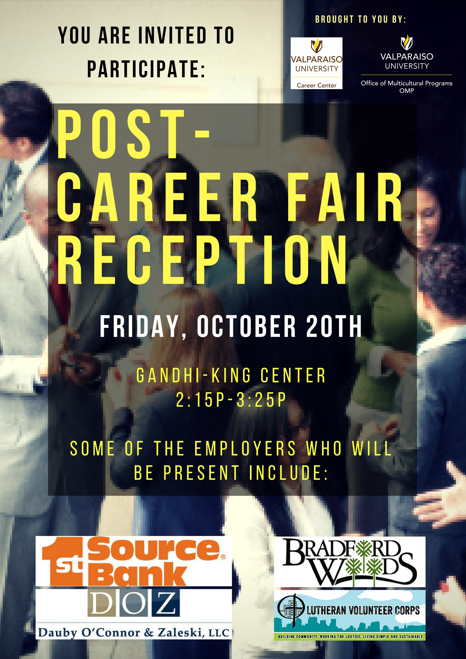 Career Fair Networking Reception