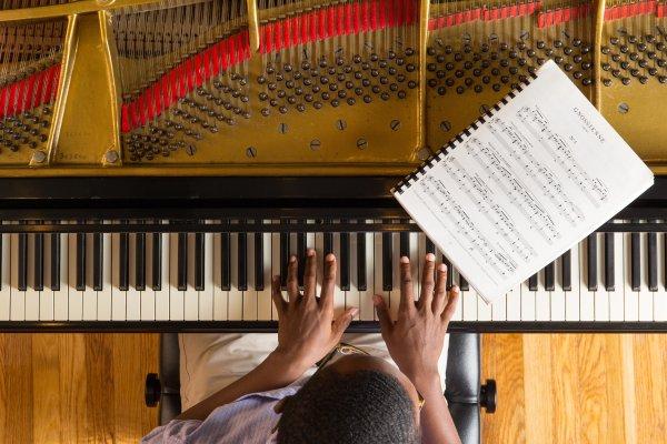 Student-at-Piano