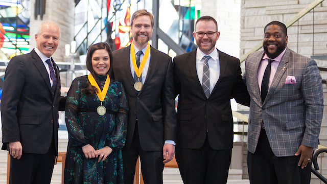 Promoting Equality: Valpo Faculty Receive Martin Luther King Jr. Award