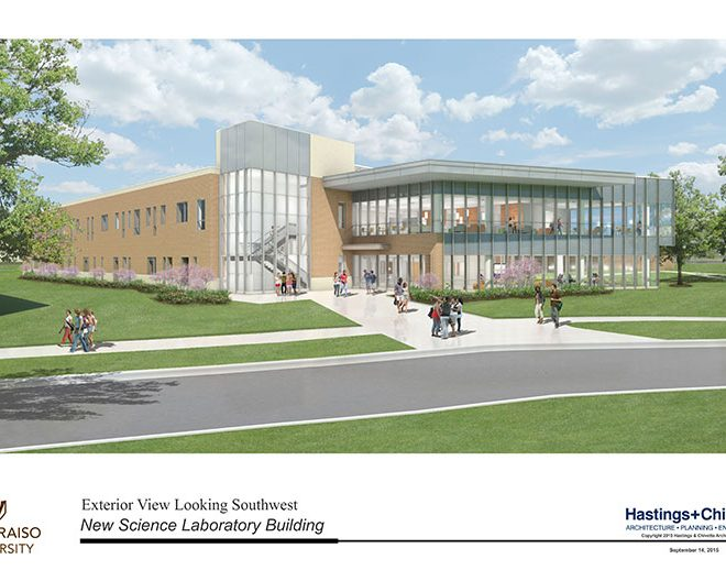 Valparaiso University Breaks Ground On Science Facility Sept. 17