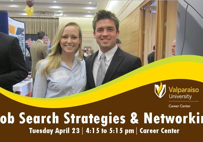 Job Search Strategies And Networking