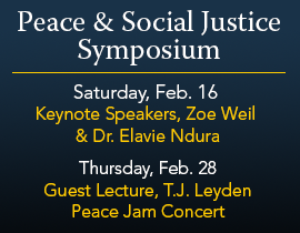 Peace And Social Justice Symposium