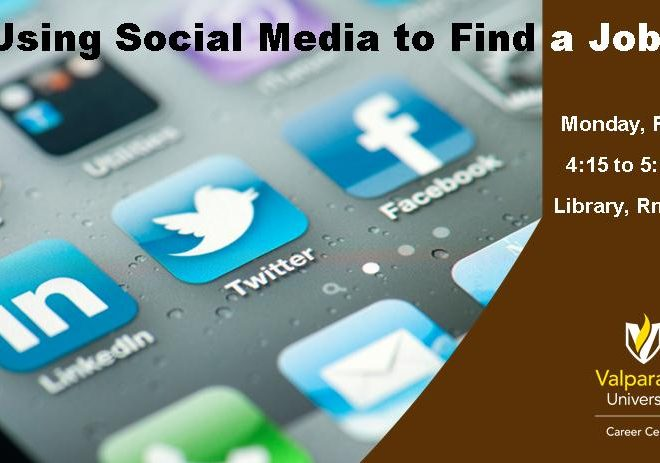 Using Social Media In Your Job Search