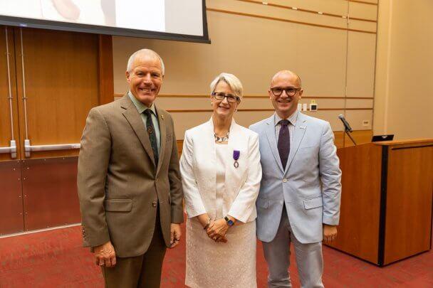 Valpo Professor Receives Prestigious Award From French Government