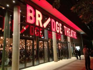 Bridge Theatre front of building