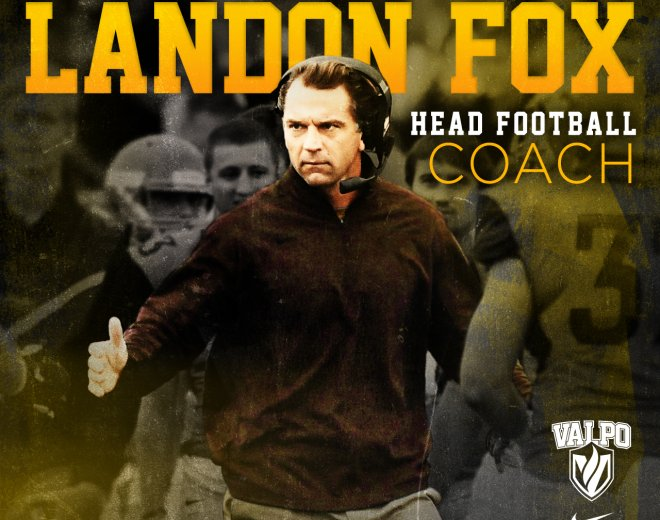 Landon Fox Hired To Lead Valpo Football Program