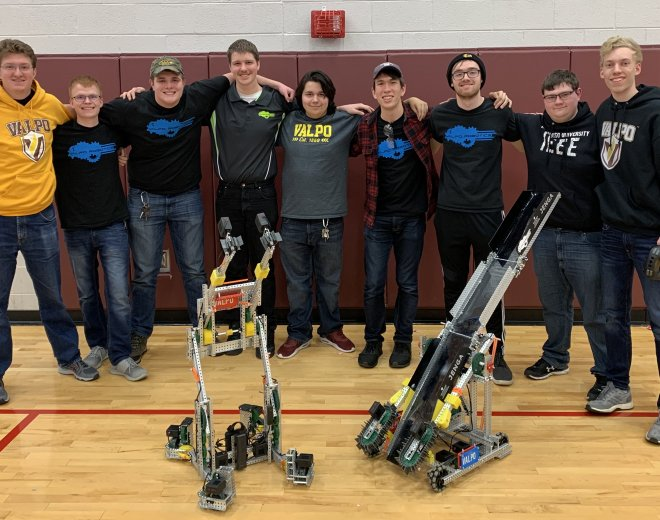 Valparaiso University Robotics Team Qualifies For World Championship In First Season
