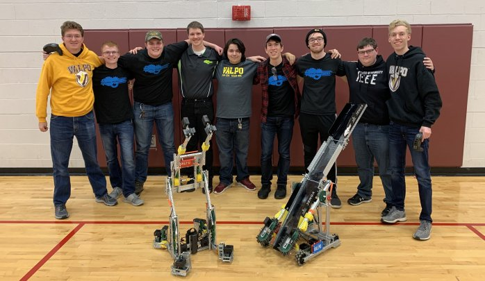 Valparaiso University Robotics Team Qualifies For World Championship In First Season