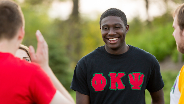 "A ""Gregarious"" Grad: Stefon David '17 Shines As A Student Leader"
