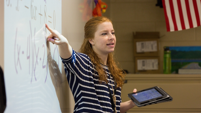 Embracing Opportunities: Katie Merkling '16 Finds Community In Valpo's Math And Science Education Program.