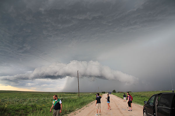 Storm Intercept Team Puts Meteorology Students Close To Storm Center