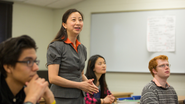 Global Ambition: Professor Liu Brings Professional Experience And International Perspective To College Of Business.