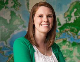 Veronica Fall '13 Awarded Prestigious International Fellowship
