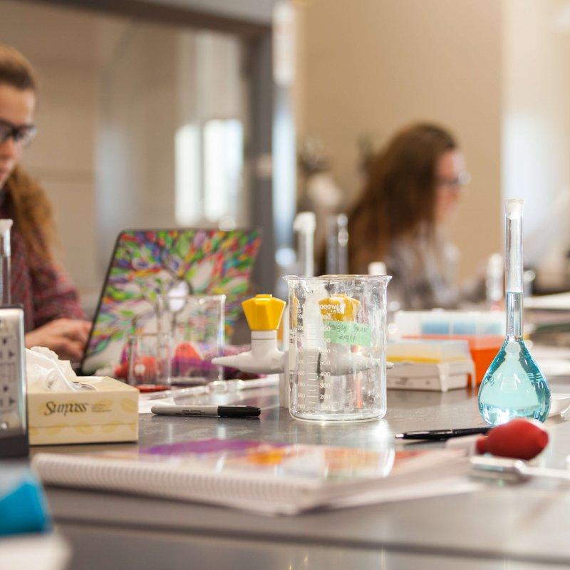 Chemistry Lab Scenes