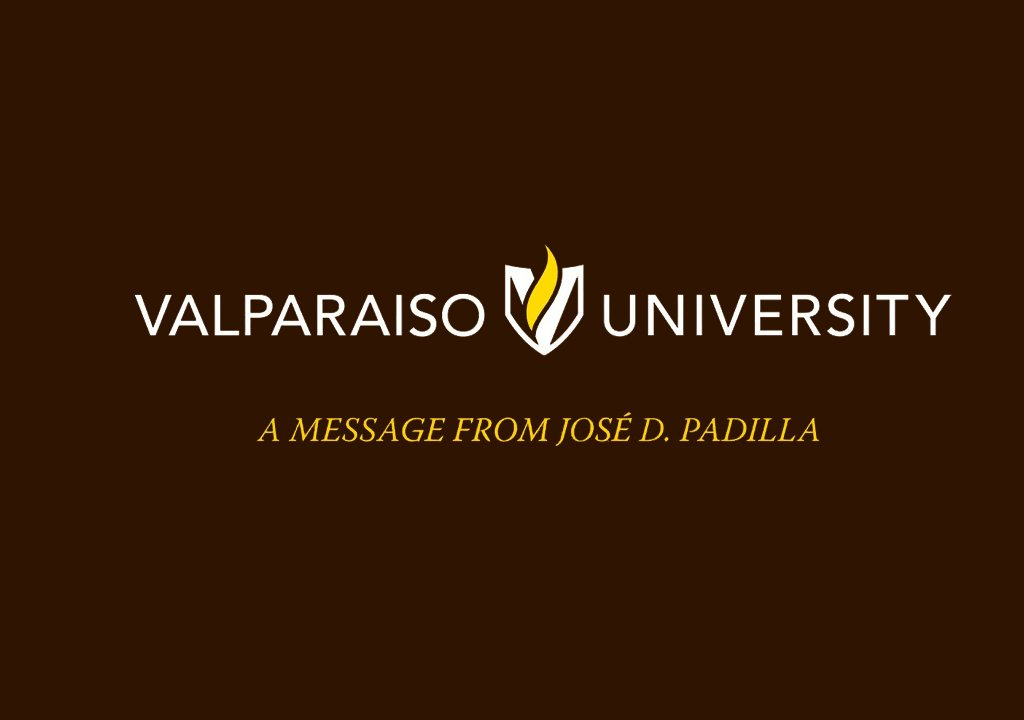 A message from Jose D Padilla