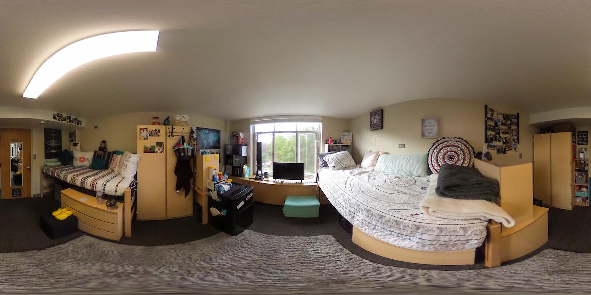 Brandt Girls Room Panoramic