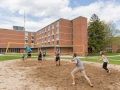 Brandt Volleyball Court with Residents
