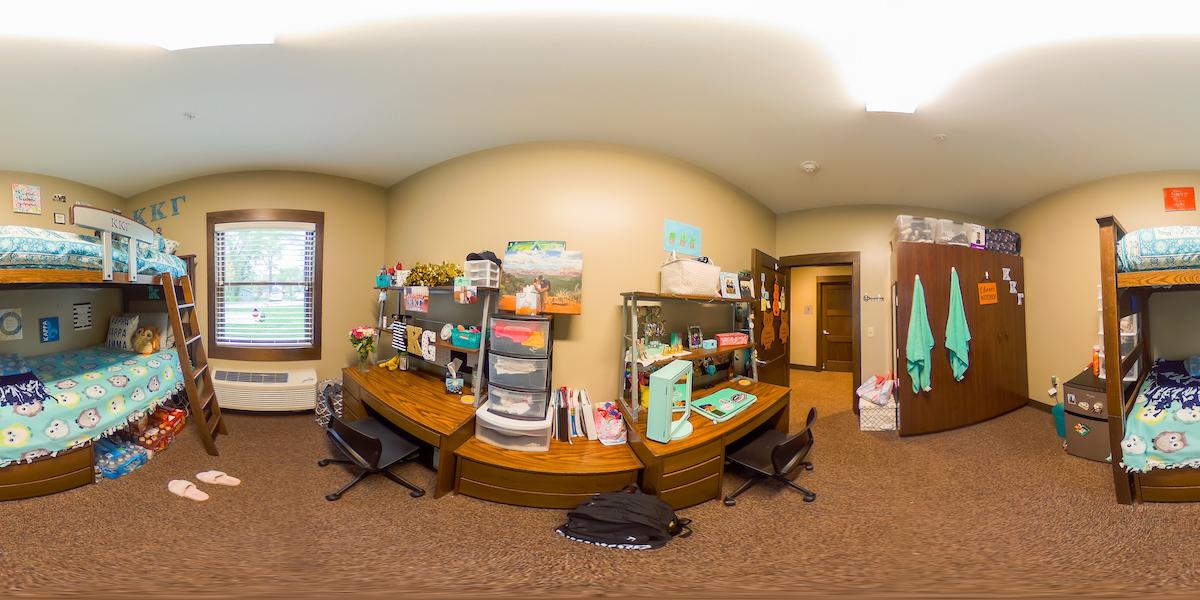 Sorority Room Panoramic 2