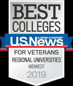 U.S. News & World Report Best Colleges for Veterans Regional Universities Midwest 2019