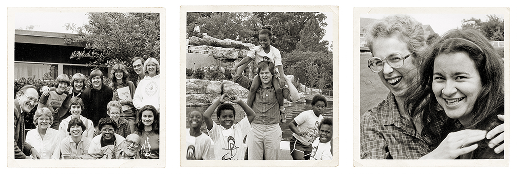 34 YEARS AGO / Leadership and Service Theology students spent the summer of 1982 engaging in a service project trip.